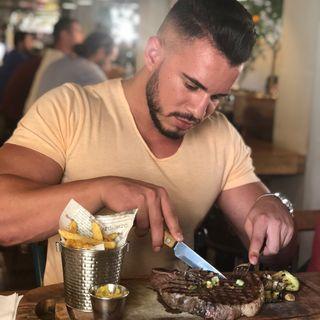 Cenando con Pablo
